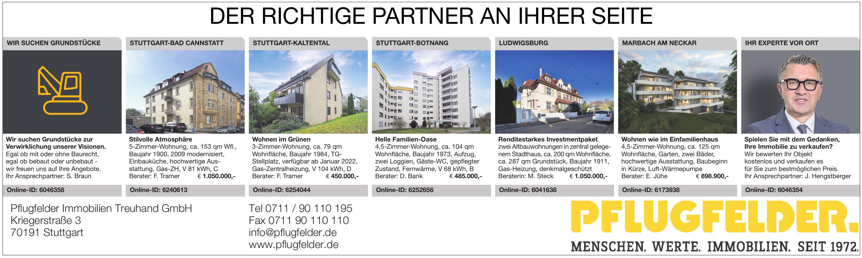 Pflugfelder Immobilien Treuhand GmbH