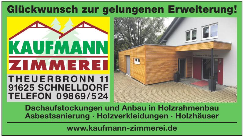Zimmerei Kaufmann