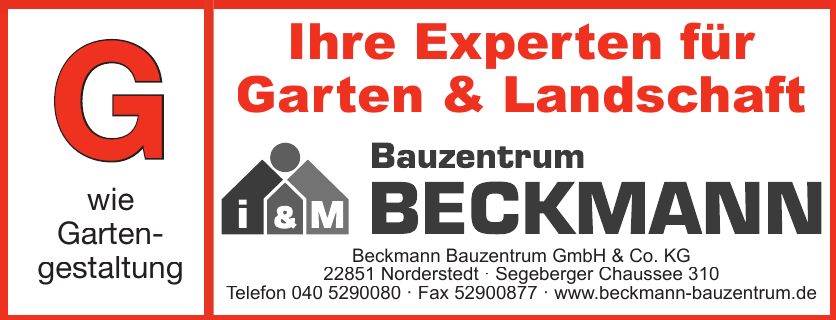 Beckmann Bauzentrum GmbH & Co. KG