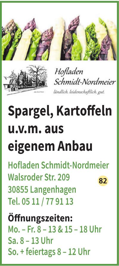 Hofladen Schmidt-Nordmeier