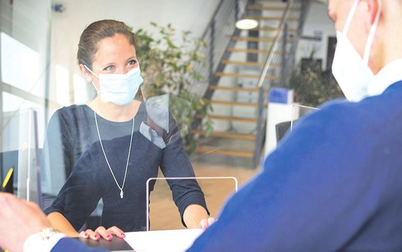 Die Bereitstellung von FFP2-Masken für alle Mitarbeiter sowie für Kunden, die keine Maske mit sich führen, ist bei AutoNova selbstverständlich