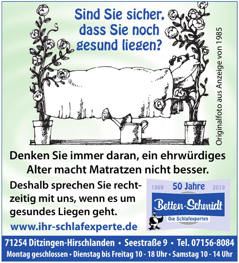 Betten-Schmidt