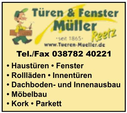 Türen & Fenster Müller
