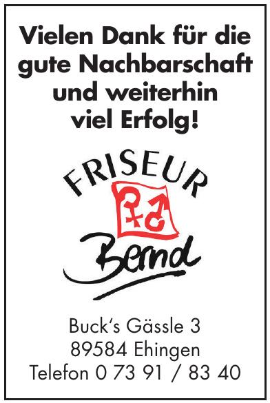 Friseur Bernd