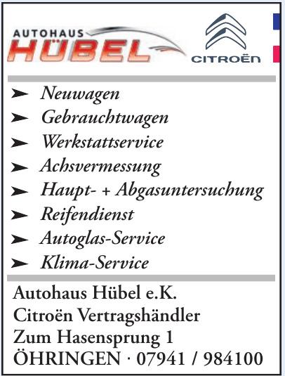 Autohaus Hübel e.K.