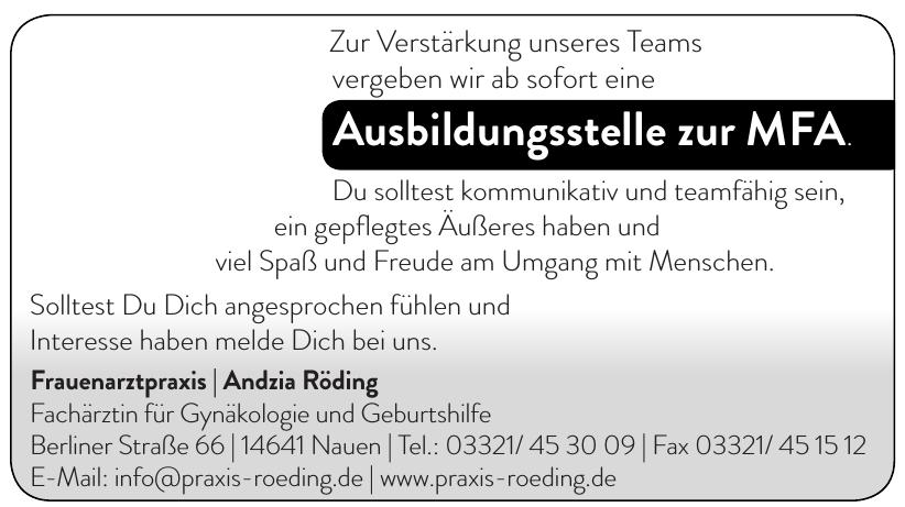Frauenarztpraxis Andzia Röding