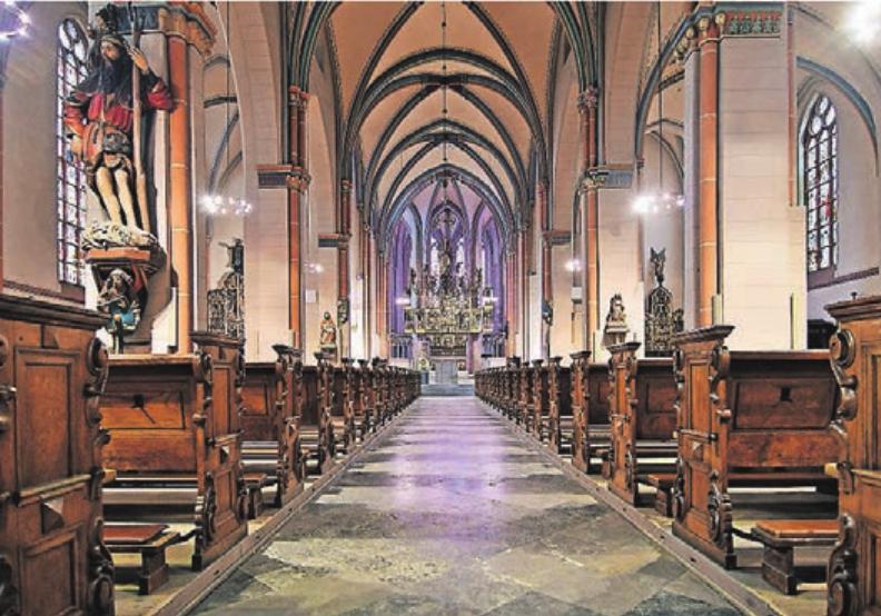 Die Propsteikirche St. Marien ist aufgrund ihrer guten Akustik ein gefragter Aufführungsort für kirchliche Konzerte.