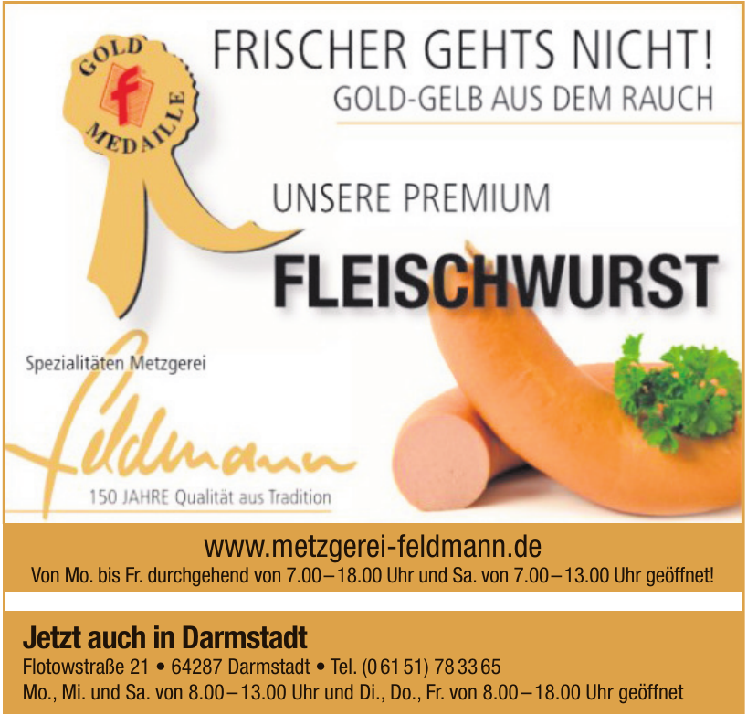 Metzgerei Feldmann