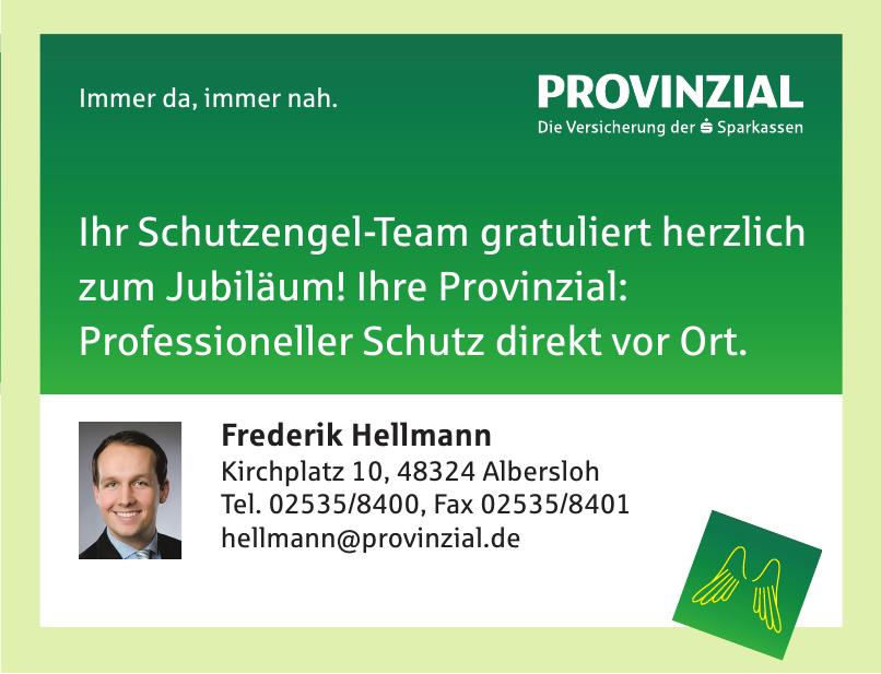 Frederik Hellmann - Provinzial