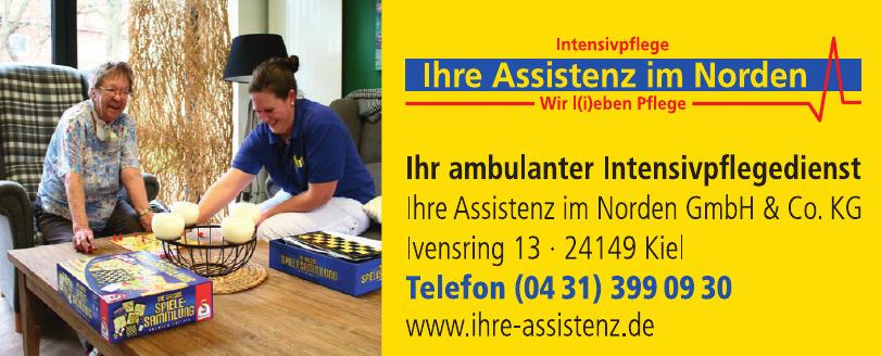 Ihre Assistenz im Norden GmbH & Co. KG