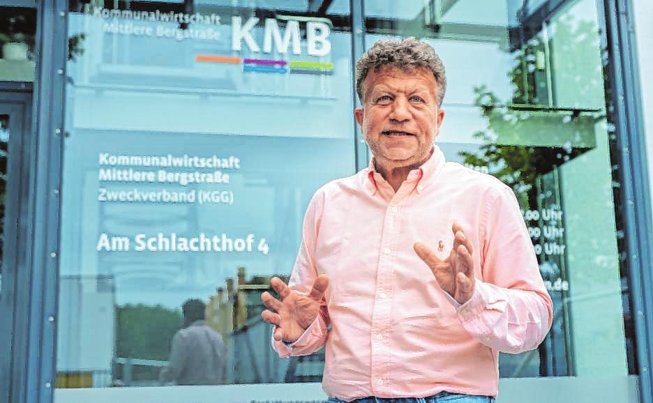 Frank Daum, Geschäftsführer des KMB. | Bilder: Thomas Neu