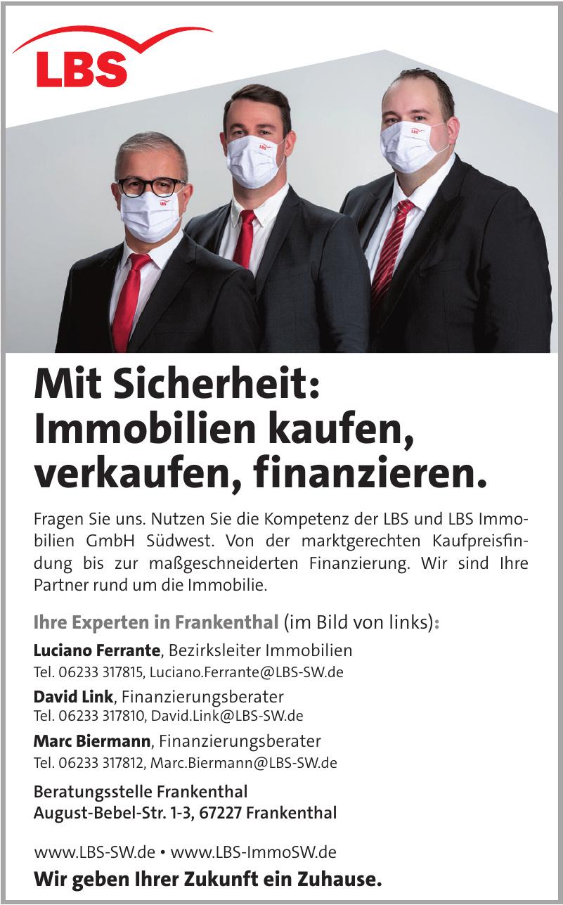 LBS und LBS Immobilien GmbH Südwest