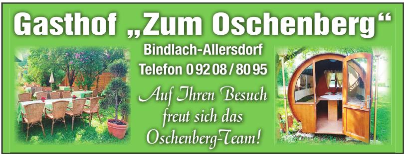 """Gasthof """"Zum Oschenberg"""""""
