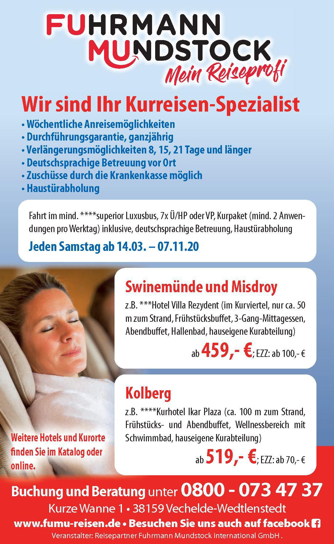 Reisepartner Fuhrmann Mundstock