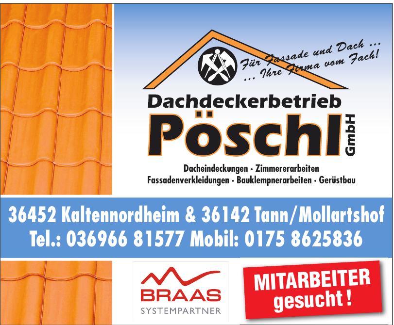 Dachdeckerbetrieb Pöschl GmbH