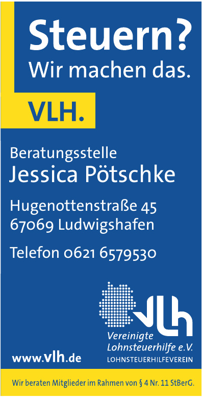Vereinigte Lohnsteuerhilfe e.V. - Jessica Pötschke