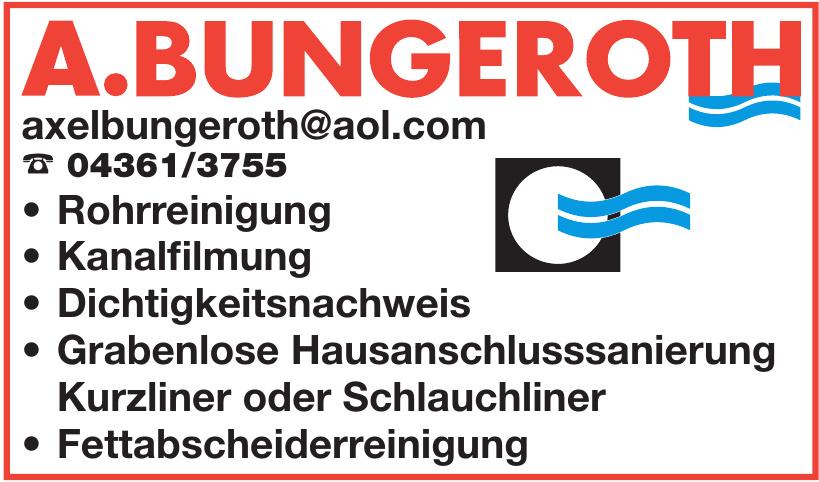Axel Bungeroth Gruben- und Kanalreinigung e.K.