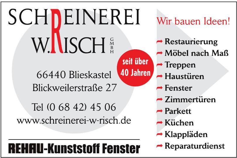 Schreinerei W. Risch GmbH
