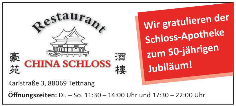 Restaurant China Schloss
