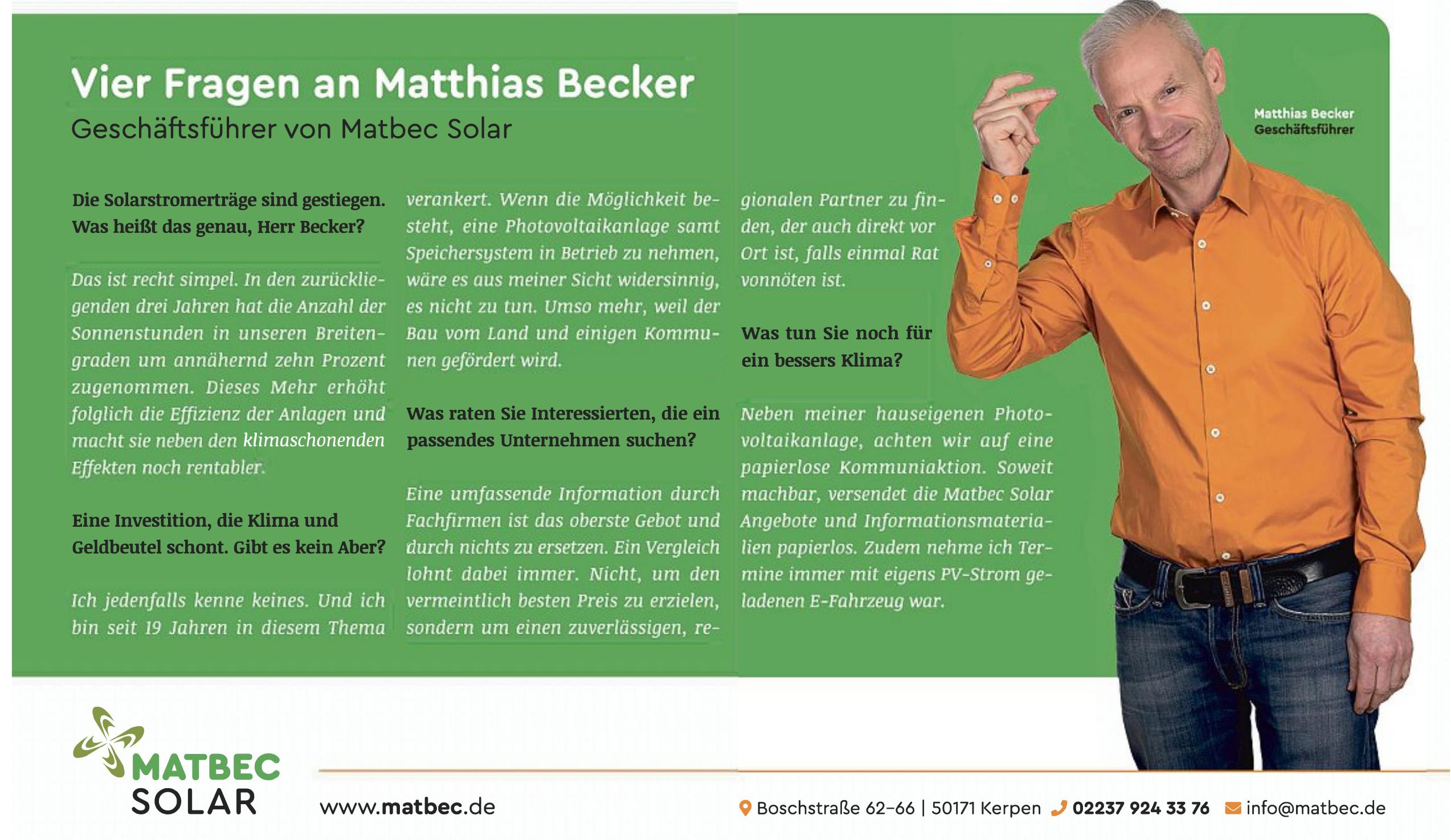 Matbec Solar