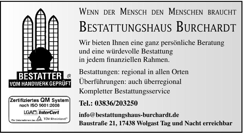 Bestattungshaus Burchardt