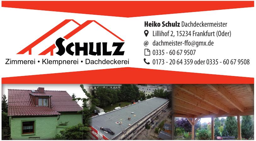 Heiko Schulz Dachdeckermeister