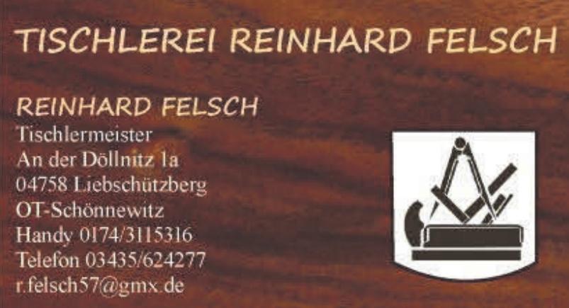Tischlerei Reinhard Felsch