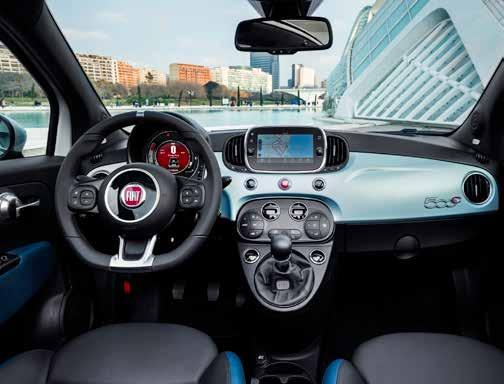 VERBRAUCHSANGABEN Fiat Panda Hybrid 1.0 8V 51 kW (70 PS)4,1 l/100 km*; 93 g/km* Fiat 500 Hybrid 1.0 8V 51 kW (70 PS) 4,1 l/100 km*; 93 g/km*