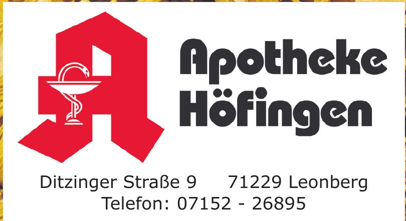 Apotheke Höfingen