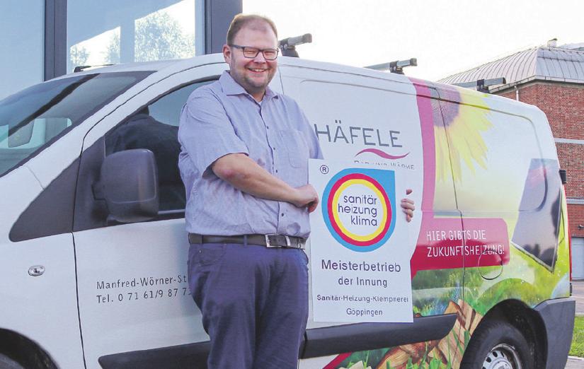 Rainer Häfele ist von der Innung überzeugt. Als Vorstandsmitglied engagiert er sich bereits seit vielen Jahren. Im Oktober wurde er zum Obermeister gewählt.