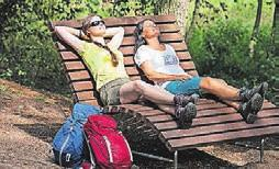 Entspannen im Geopark TERRA.vita. Foto: Klaus Herzmann