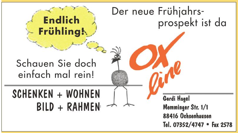 Ox-line Gerdi Hagel