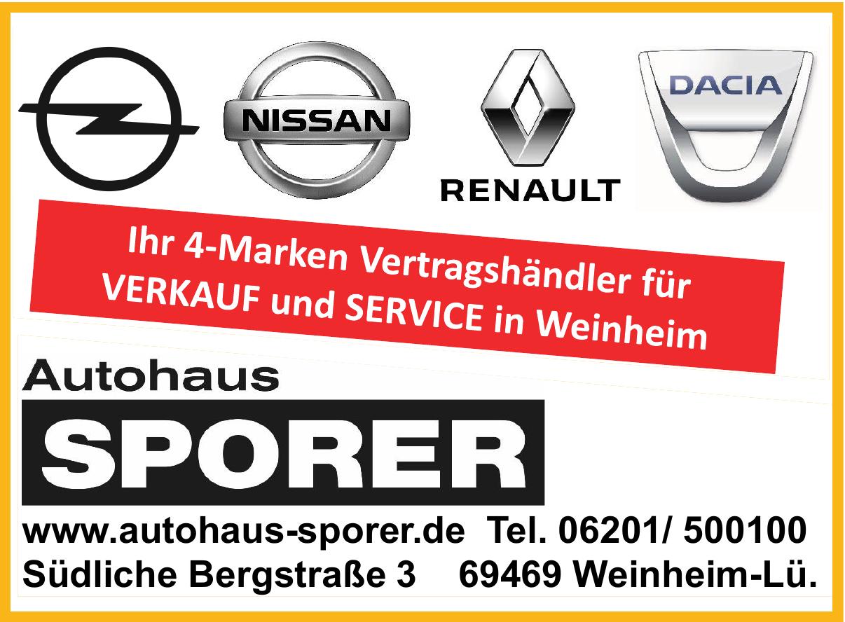 Autohaus Sporer GmbH