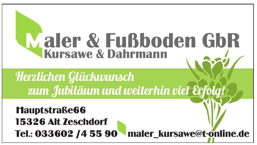 Kursawe & Dahrmann Maler & Fußboden GbR