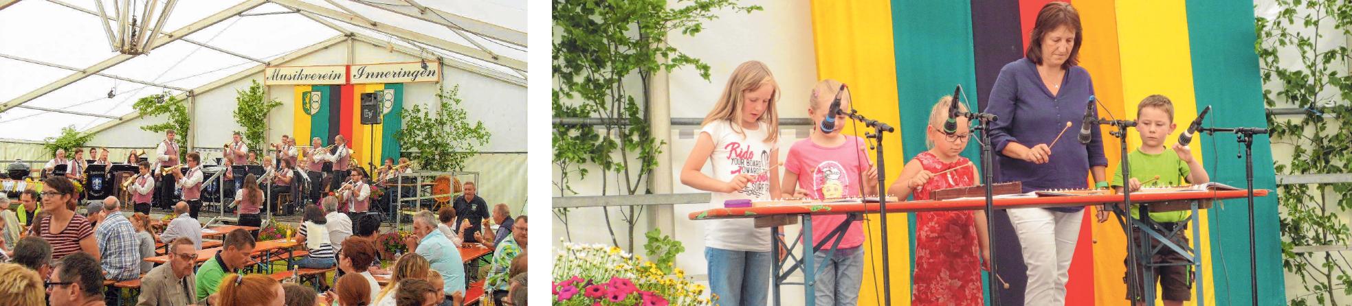 Musikkapellen unterhalten die Besucher. FOTO: PRIVATBeim Kinder- und Seniorennachmittag gibt es verschiedene Aufführungen. FOTO: PRIVAT