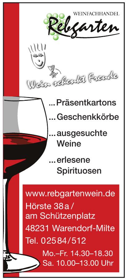 Weinfachhandel Rebgarten Bücker