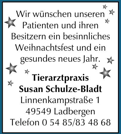 Tierarztpraxis Susan Schulze-Bladt