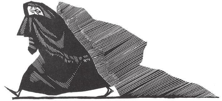 Werner Klempke (1917–1994) Illustration zu ›Dornröschen‹, 1979, Tuschezeichnung, Aufbauverlag Berlin
