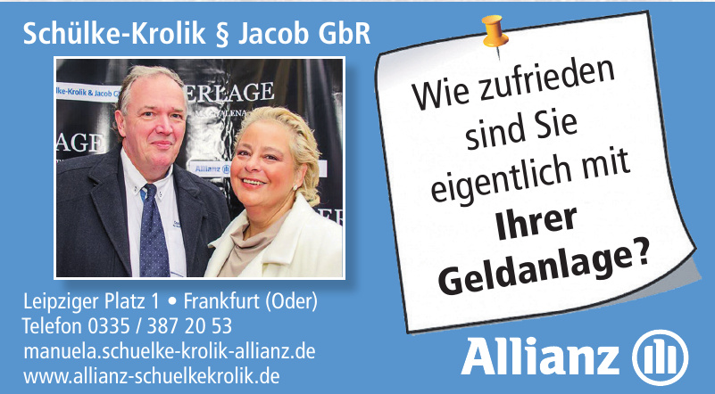 Schülke-Krolik § Jacob GbR