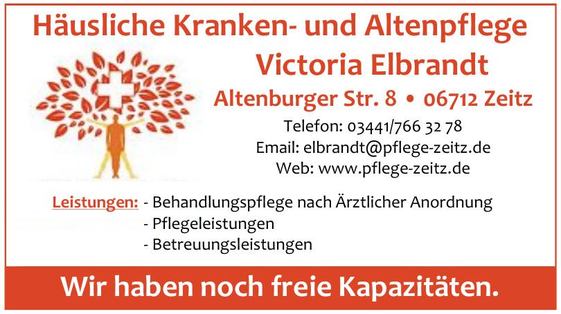 Häusliche Kranken- und Altenpflege Victoria Elbrandt
