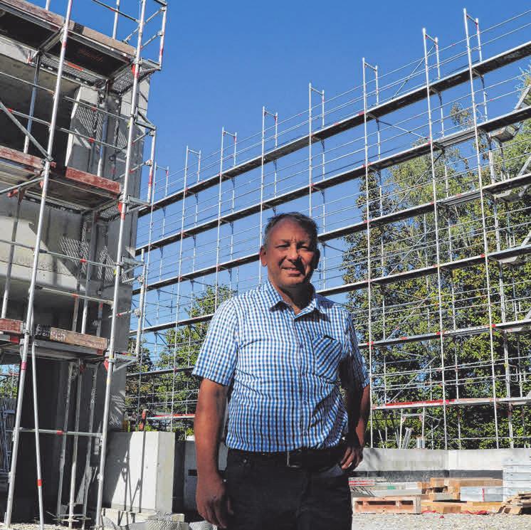 DAV-Vorsitz Klaus Hassler hat mit seiner Biberacher Sektion den Bau des Ketterzentrums vorangetrieben.