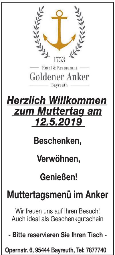 Hotel und Restaurant Goldener Anker