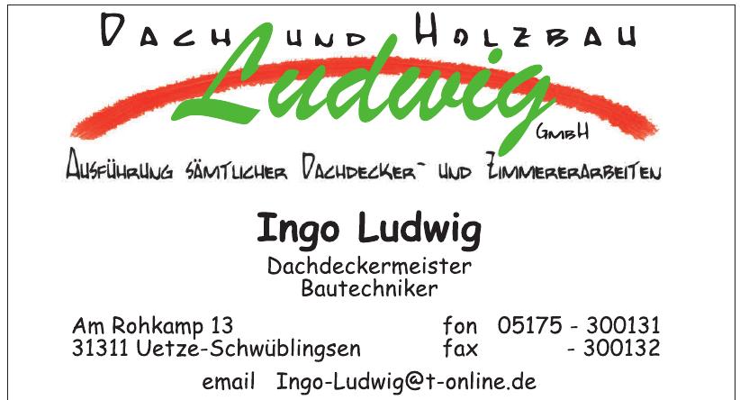 Dach und Holzbau Ludwig GmbH