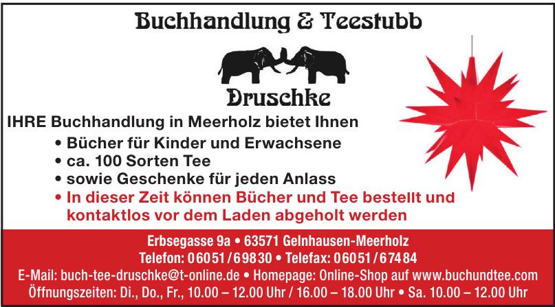 Buchhandlung & Teestubb Druschke