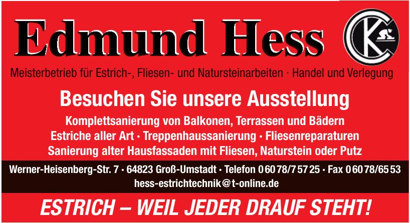 Edmund Hess