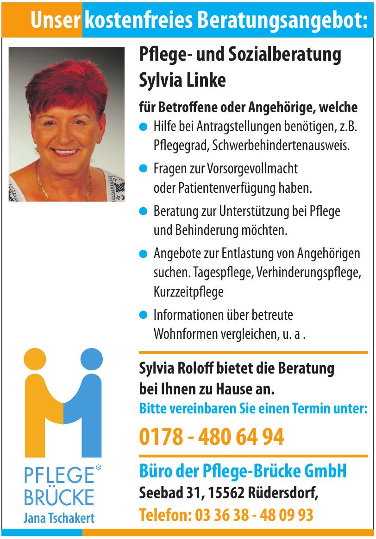 Pflege Brücke Jana Tschakert - Büro der Pflege-Brücke GmbH