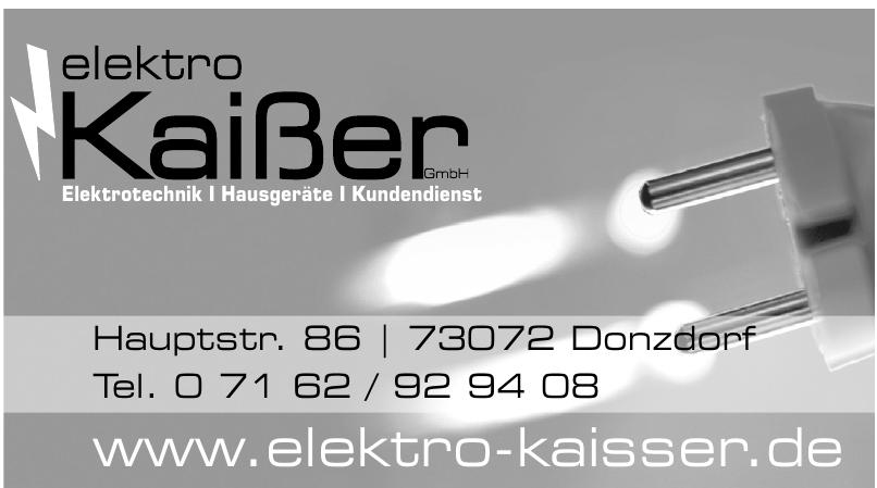 Elektro Kaißer GmbH
