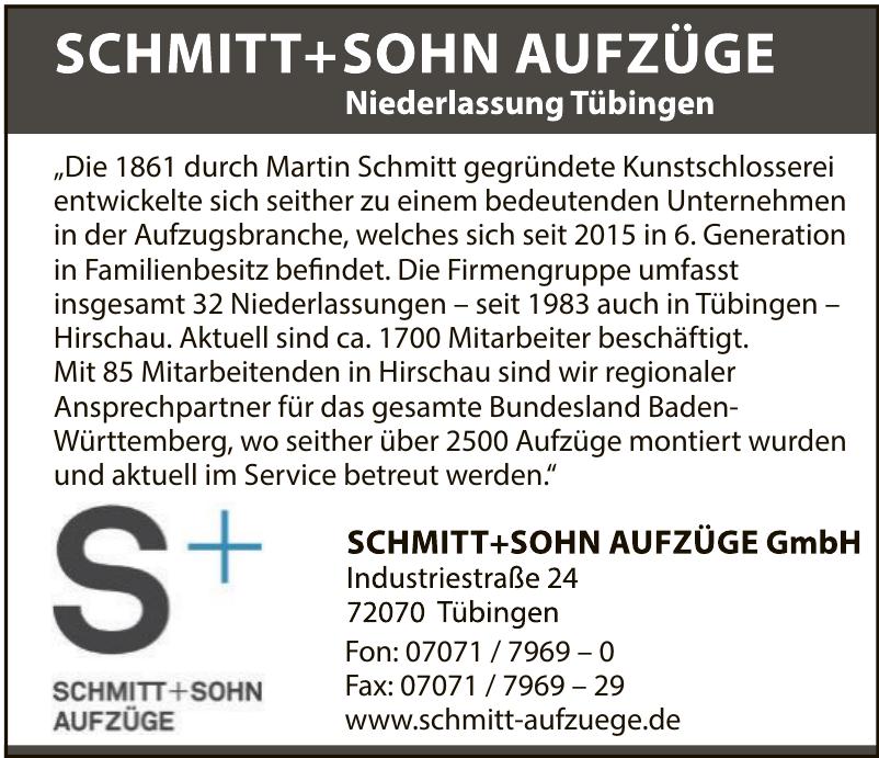 Schmitt +Sohn Aufzüge GmbH