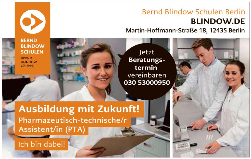 Bernd Blindow Schulen Berlin