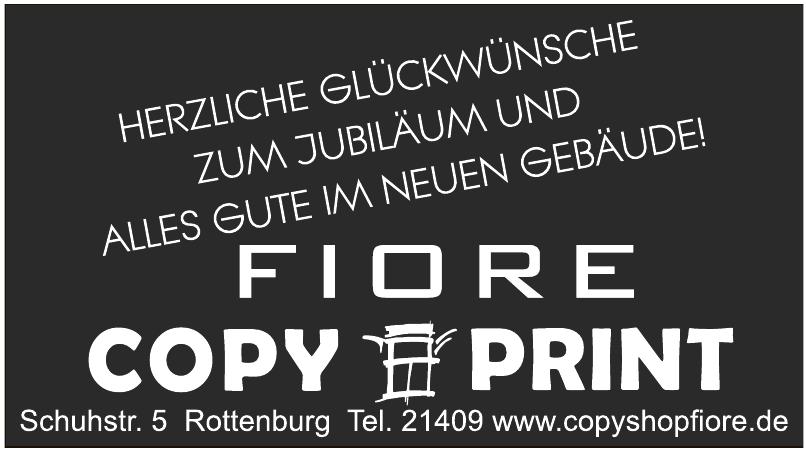 Fiore Copy & Print